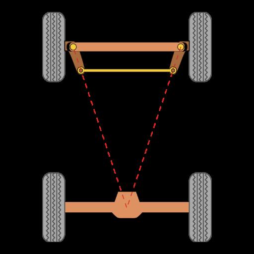 Геометрия на преден и заден мост