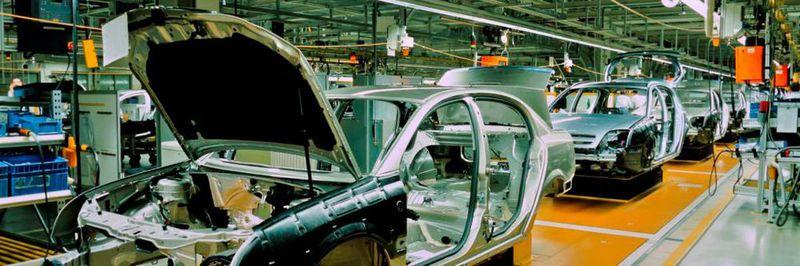 Смарт фабрика за автомобилно производство