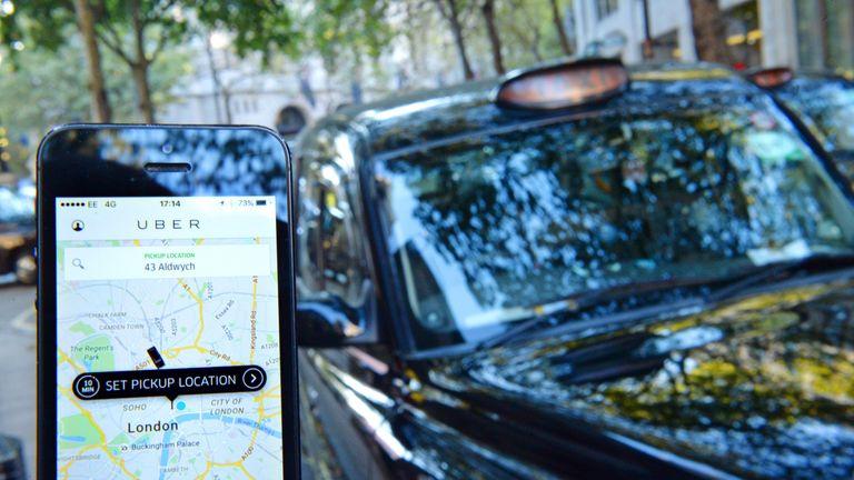 Uber в Лондон